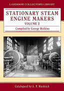 Stationary Steam Engine Makers