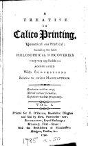 Pdf A treatise on calico printing