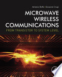 Microwave Wireless Communications
