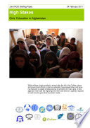 High Stakes: Girls' education in Afghanistan