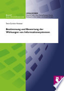Bestimmung und Bewertung der Wirkungen von Informationssystemen