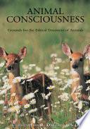 Animal Consciousness Book