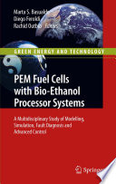 Pem Fuel Cells With Bio Ethanol Processor Systems Book PDF