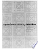 High Performance Building Guidelines
