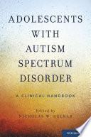 Adolescents with Autism Spectrum Disorder