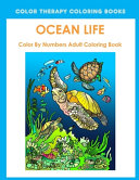 Ocean Life Color By Number Adult Coloring Book ebook
