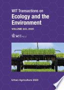 Urban Agriculture and City Sustainability II
