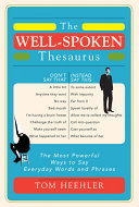 The Well-Spoken Thesaurus