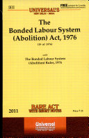 The Bonded Labour System (Abolition) Act, 1976 ebook