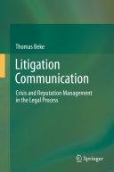 Litigation Communication [Pdf/ePub] eBook