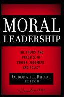 Moral Leadership Pdf/ePub eBook
