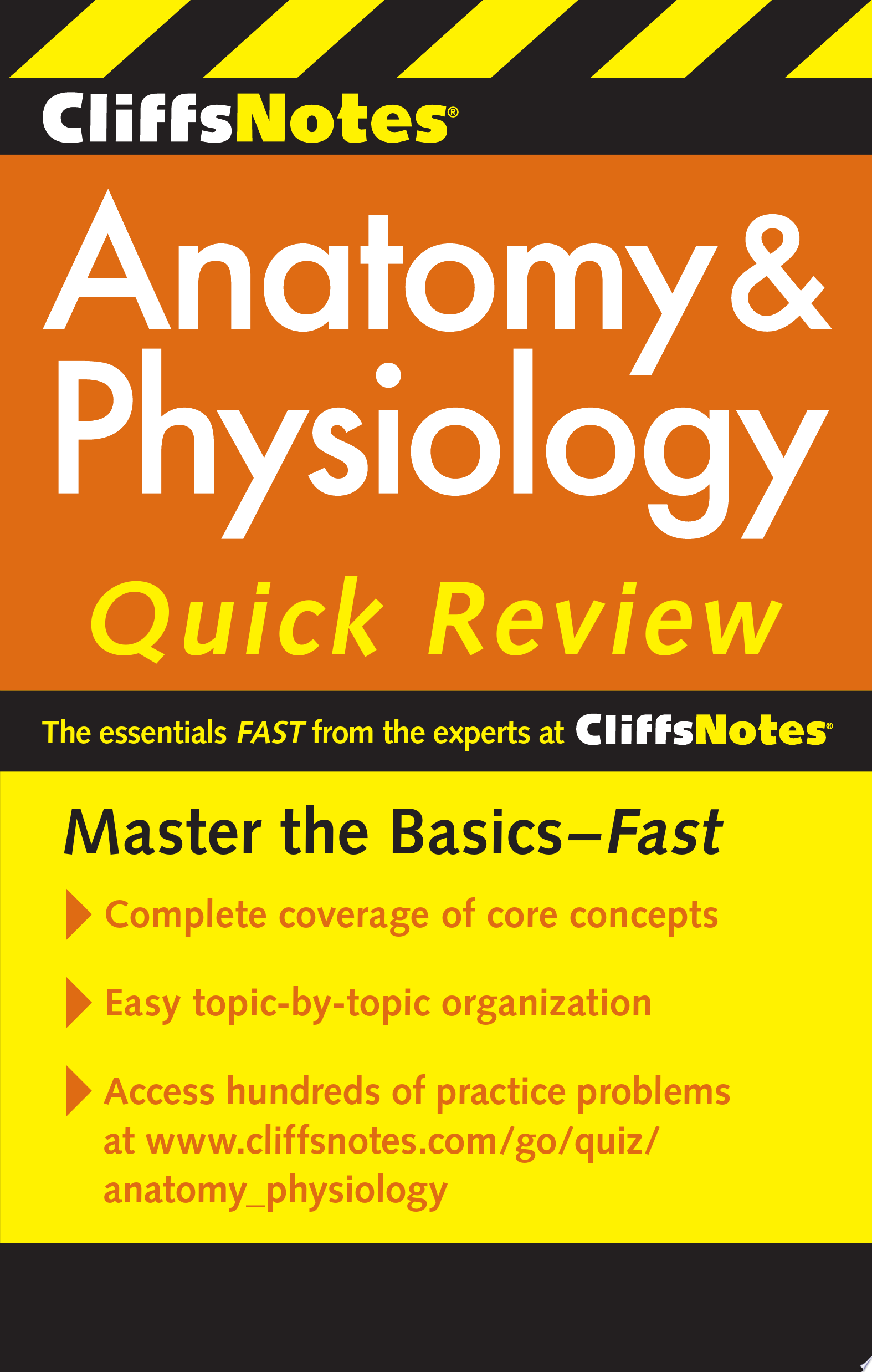 CliffsNotes Anatomy   Physiology Quick Review  2nd Edition