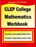 CLEP College Mathematics Workbook Pdf/ePub eBook
