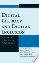 Digital Literacy And Digital Inclusion Book PDF