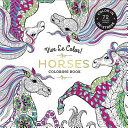 Vive Le Color! Horses (Adult Coloring Book)