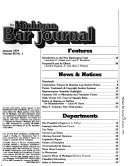The Michigan Bar Journal