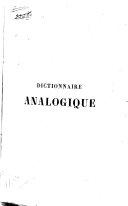 Dictionnaire analogique de la langue française ebook