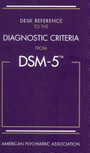 Cover of Desk Reference to the Diagnostic Criteria from Dsm-5(r)