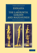 Pdf Ehnasya, The Labyrinth, Gerzeh and Mazghuneh
