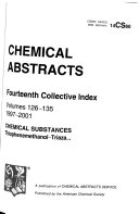 Chemical Abstracts Book