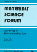 Advances in Nanocrystallization