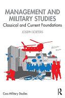 Management and Military Studies Book