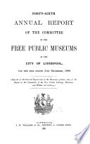 Annual Report of ... the Free Public Museums