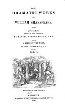 The Dramatic Works of William Shakespeare  Measure for measure  Midsummer night s dream  Much ado about nothing  Love s labour s lost
