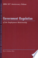 Government Regulation Of The Employment Relationship