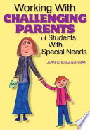 Working With Challenging Parents Of Students With Special Needs Book PDF