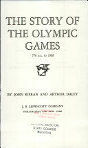 the Story of the Olympic Games  Book