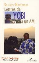 Pdf Lettres de YOBI à un AMI Telecharger