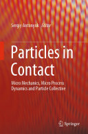 Pdf Particles in Contact Telecharger