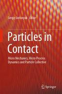 Particles in Contact [Pdf/ePub] eBook