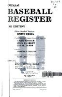 Baseball Register 1991 PDF