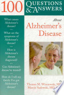 100 Questions   Answers about Alzheimer s Disease