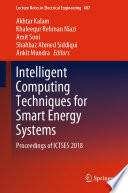 Intelligent Computing Techniques for Smart Energy Systems