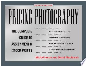 Pricing+PhotographyWritten by successful freelance photographers, this classic trade reference tool provides photographers with a wealth of time-tested information on everything from estimating prices, identifying pricing factors, and negotiating fair deals. Topics discussed include practical information on the economics of photography, cutting-edge negotiation techniques, pricing guidance for photography buyers, how to structure prices to fit any type of market and usage, how to define prices in a way that guarantees long-term profitability, and the specifics of pricing electronic media. A must-have addition to every photographer's bookshelf.