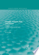 Climate  Present  Past and Future  Routledge Revivals  Book
