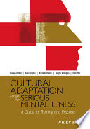 Cultural Adaptation of CBT for Serious Mental Illness Book