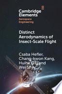 Distinct Aerodynamics of Insect Scale Flight