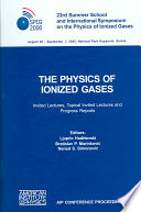 The physics of ionized gases