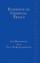 Evidence in Criminal Trials