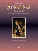 Selected Sonatinas  Volume 2