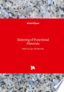 Sintering of Functional Materials Book
