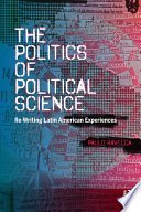 The Politics of Political Science