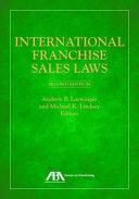Pdf International Franchise Sales Laws