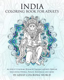 India Coloring Book for Adults