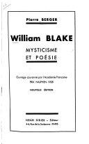Pdf William Blake