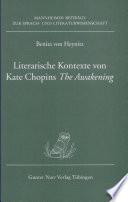 Literarische Kontexte von Kate Chopins The awakening